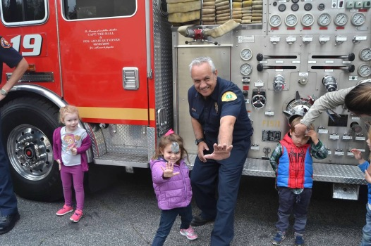 Visit from local Fire Department